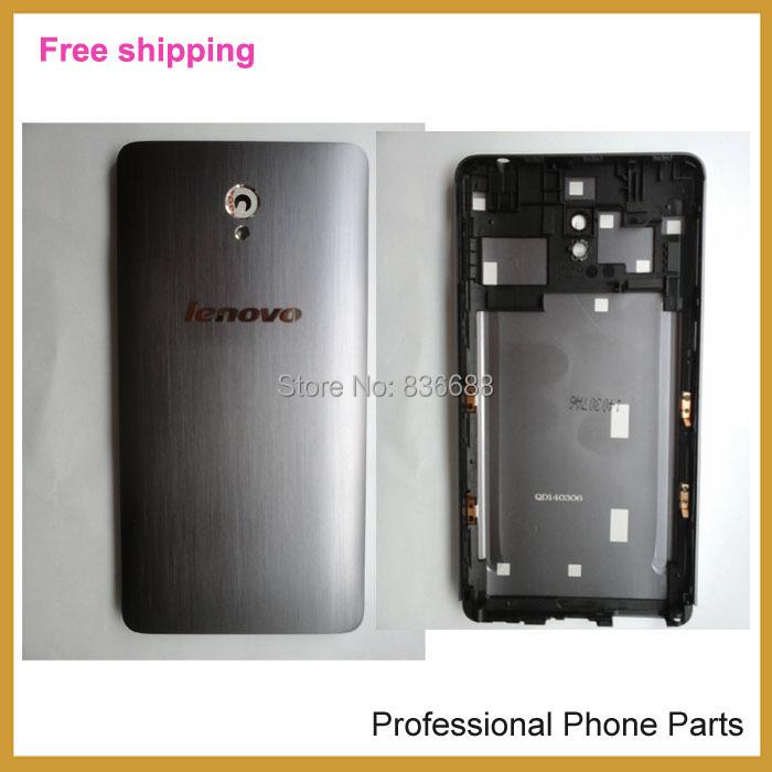 100 % Original  Battery Back Door Cover Case For Lenovo s860 Housing  Battery Back Door Cover light Gray Color , Free Shipping
