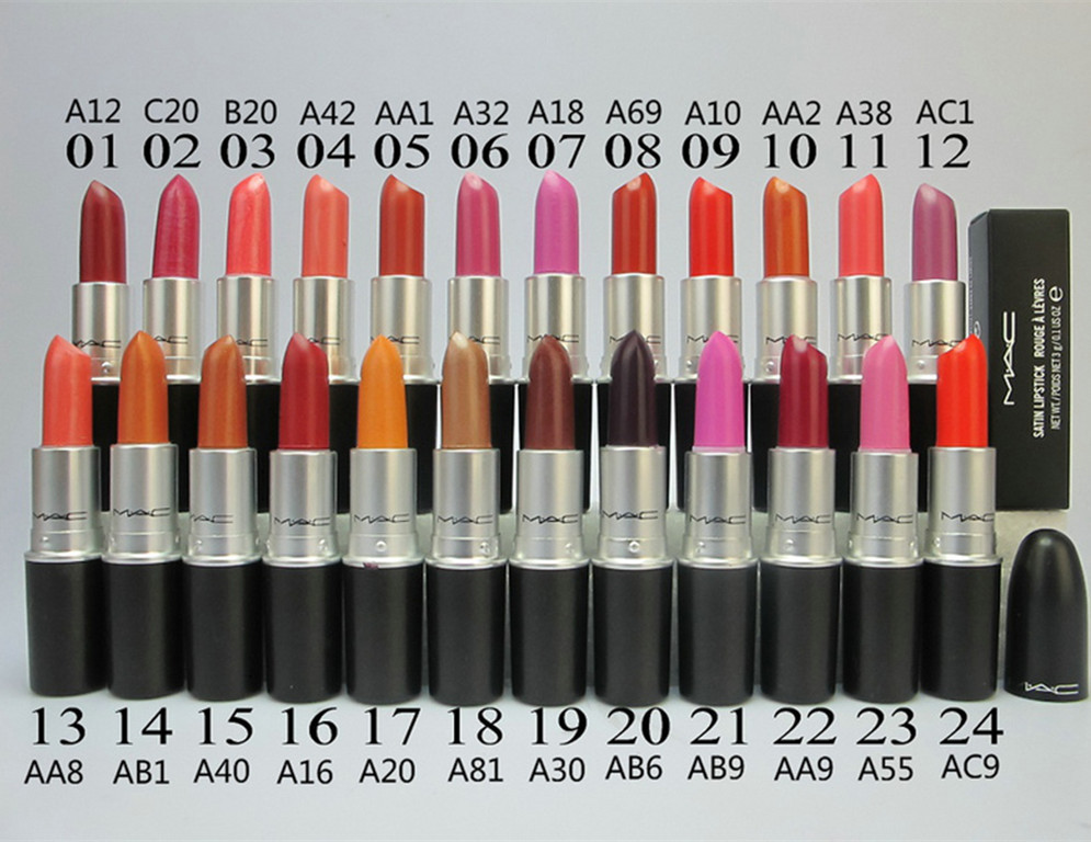 1pcs new hot brand cosmetics makeup lipstick russian red cyber lipstick wholesale drop shipping free shipping KH04(China (Mainland))