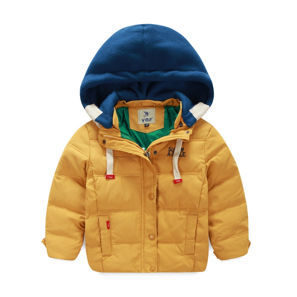 Retail 2016 New Baby Boys Girls Winter Vest Kids Warm Jacket Children Thick Clothes 5 Color Suit For 3-7 Years Old