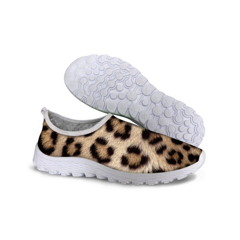 Sexy Leopard Women Outdoor Walking Shoes Fashion Brand Animal Skin Printed Valentine Huraches New Gym Men Jogging Sports Shoes(China (Mainland))