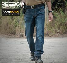 Army Men Work Duty Cargo Jeans Pants Outdoor Dimen Blue Sport Casual Urban Jeans Mens Military SWAT Combat Camo Trouser CORDURA(China (Mainland))