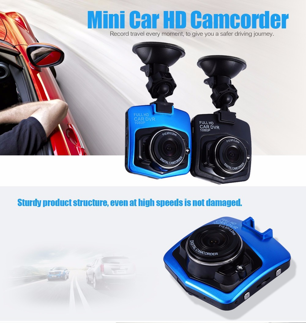 2017 Mini Car DVR Camera GT300 Camcorder 1080P Full HD Video Registrator Parking Recorder G-sensor Dash Cam