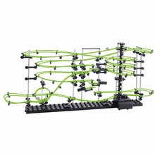 SpaceRail Level 3 231-3G 13500mm Glows In The Dark Fluorescent Illuminated Rollercoaster Spacewarp Spacerail Model Educational(China (Mainland))