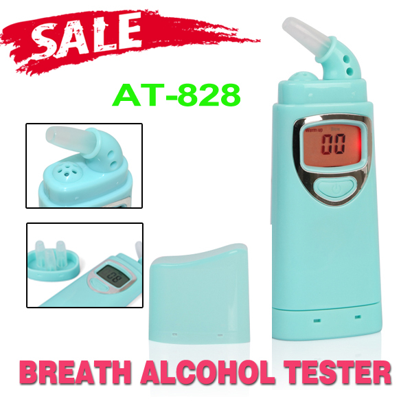 The latest digital and red backlighting alcohol, the alcohol tester breath alcohol tester is factory price(China (Mainland))