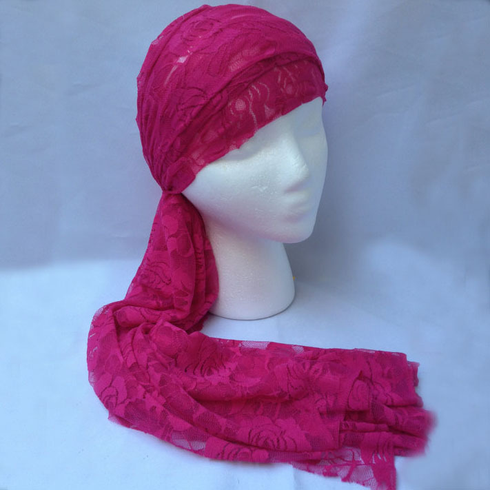 Wholesale Woman Long and Wide Lace Headwrap Headband Girls Hair Accessories 300pcs(China (Mainland))