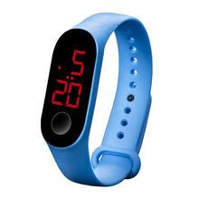 LED électronique sport capteur lumineux montres mode hommes et femmes montres robe montre numérique montre mode gif hommes wa(China)