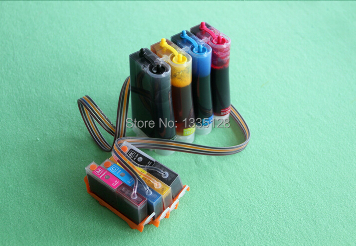 Фотография Compatible for HP 920 ink system Ciss 920xl for HP 6000 6500 7000 7500 with Auto reset chips CISS full ink