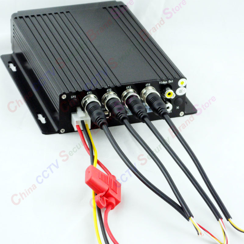 4CH SD Car HGV Vehicle truck for bus truck DVR Cam Dash Video Recorder Cycle Recording CCTV(China (Mainland))