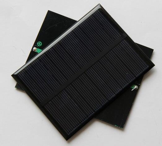 6V 1.1W 180mA Mini monocrystalline polycrystalline solar Panel charge for LED Solar garden lamp Wall light spot lighting(China (Mainland))