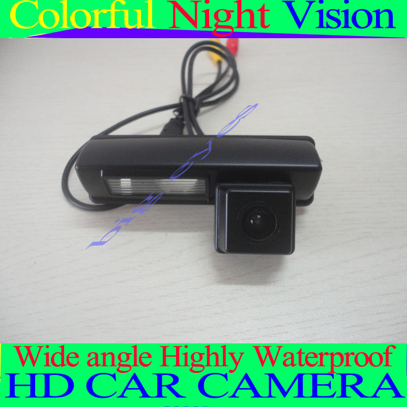 Color CCD /HD camera Free Shipping Toyota 2007 and 2012 camry Car Rear View Camera Reverse Backup parking aid(China (Mainland))