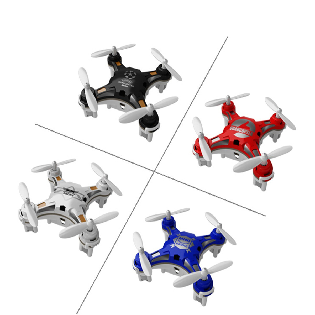 Гаджет  The Most Popular FQ777-124 Pocket Drone 4CH 6Axis Gyro Quadcopter With Switchable Controller RTF Remote Control Helicopter Toys None Игрушки и Хобби