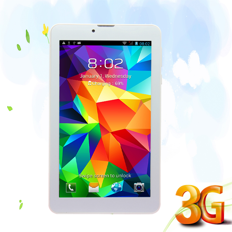 7 Inch small computer tablet pc 3G Phone Call Android Tablets Pc WiFi GPS Bluetooth FM Dual core Dual Camera Dual SIM Card Phone(China (Mainland))
