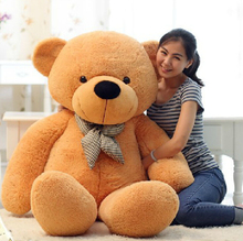 [80-120cm 3 Colors] Giant Large Size Teddy Bear Plush Toys Stuffed Toy Lowest Price Birthday gifts Christmas(China (Mainland))