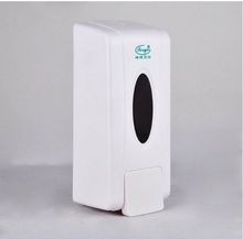Free Shipping   Stylish kitchen soap dispenser hand sanitizer bathroom make manual wall-mounted soap dispenser(China (Mainland))
