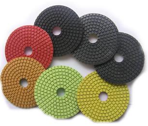 "8 pieces/lot 3"" 80mm granite countertop polishing pads(China (Mainland))"