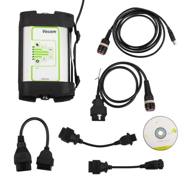 New For Volvo 88890300 Vocom Interface for Volvo/Renault/UD/Mack Truck Diagnose For Volvo Vocom 88890300 Vocom for Volvo Vcads(China (Mainland))