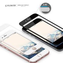 G.D.SMITH 2.5D Full Cover Tempered Glass Screen Protector for iPhone 6 Plus 6s Plus 5.5 inch Safety Protective Film 2016 New