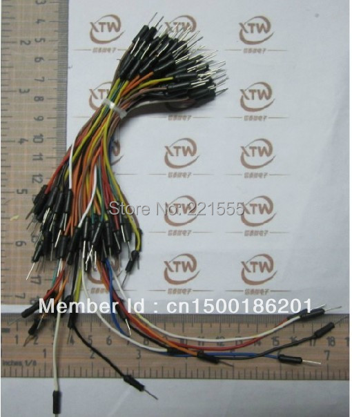 Good quality Shield cables male to male wire Bread board jumper bread board jump line/bread plate special connections(China (Mainland))
