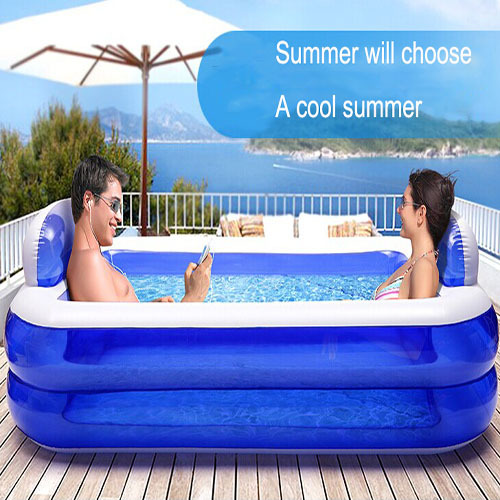 Large Plastic Pools Intex Adults Real New Sale Pools Inflatable Swimming Pool Belt Family Water Child Thickening Beightening(China (Mainland))