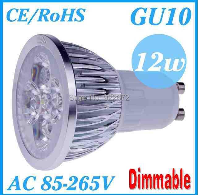 FREE SHIPPING 1pcs/lot Dimmable GU10 E27 MR16 E14 3W 9W 12W 15W High power LED Bulb Spotlight Downlight Lamp LED Lighting(China (Mainland))