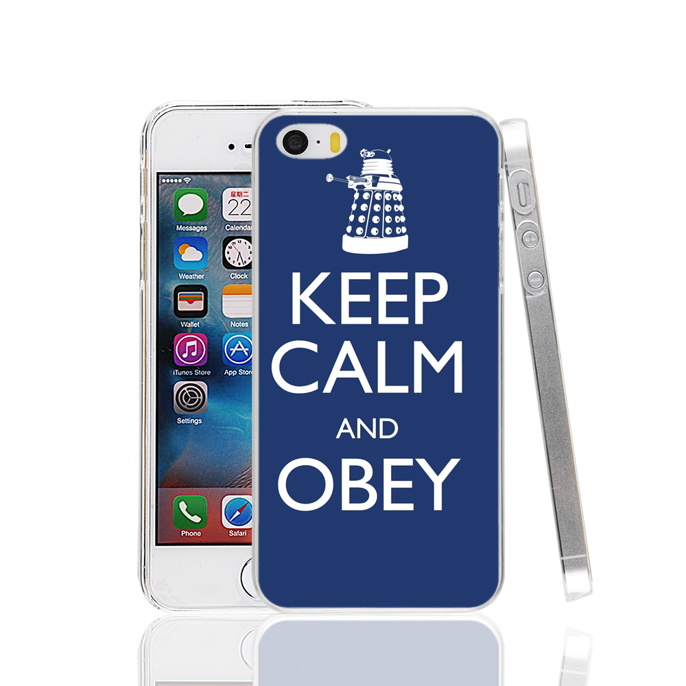 22247 Keep Calm And Obey cell phone Case Cover for iPhone 4 4S 5 5S 5C SE 6 6S Plus 6SPlus(China (Mainland))