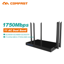 2pc High Power Comfast 1750Mbps 802.ac WiFi Router Dual Band 2.4G&5G Enterprise Wi fi signal amplifier router openwrt - SHEN ZHEN FOUR SEAS GLOBAL LINK NETWORK TECHNOLOGY CO.,LTD store