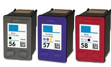 3pk compatible printer HP 56 57 58 ink cartridge hp56 Officejet J5500 All-in-One Series J5508 J5520 - Galvin office consumable retail store