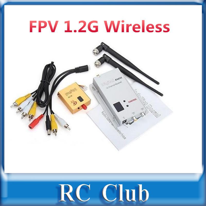 FPV 1.2G Wireless 800mW AV Transmitter And Receiver(China (Mainland))