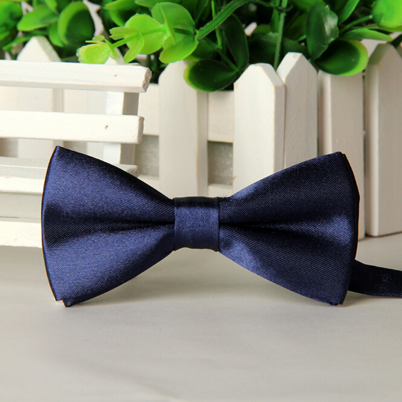 Free Shipping Eco-friend Children Bow Tie Baby Boy Kid Accessories Solid Color Tuxedo Neck tie bow flower Girl Accessory(China (Mainland))