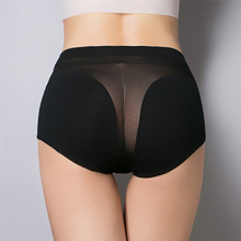 Women's cotton briefs hollow out high waist panties cotton underwear girl underpants(China (Mainland))