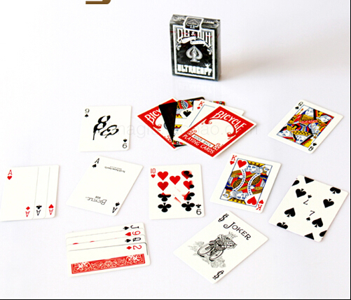 100% ORIGINAL Bicycle ULTRAGAFF Deck Playing Cards Best Poker New Bicycle Playing Card Magic Card Ellusionist(China (Mainland))