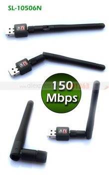 Hot Sale! Mini 150Mbps USB WiFi card Wireless Adapter 150M LAN Card 802.11n/g/b with Antenna