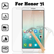 Buy Tempered Glass Huawei Honor 7i Premium Ultra Thin Film 9H Screen Protector Guard Case Cover for $1.06 in AliExpress store