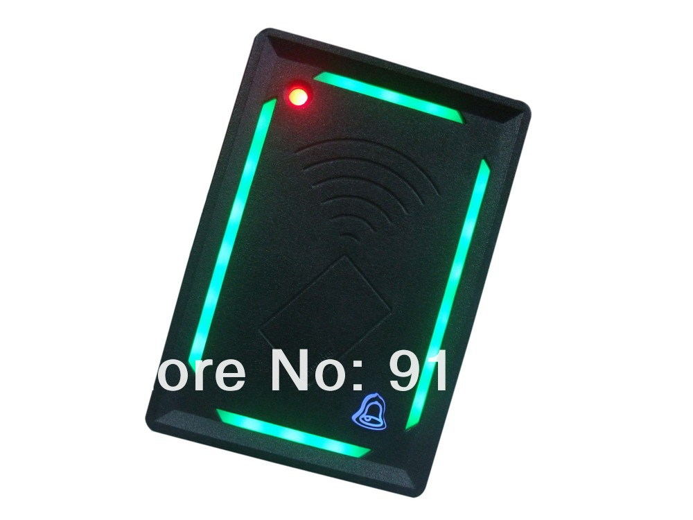 Free Shipping 2014 New Arrival 125khz Wiegand 26 waterproof rfid reader access control system(China (Mainland))