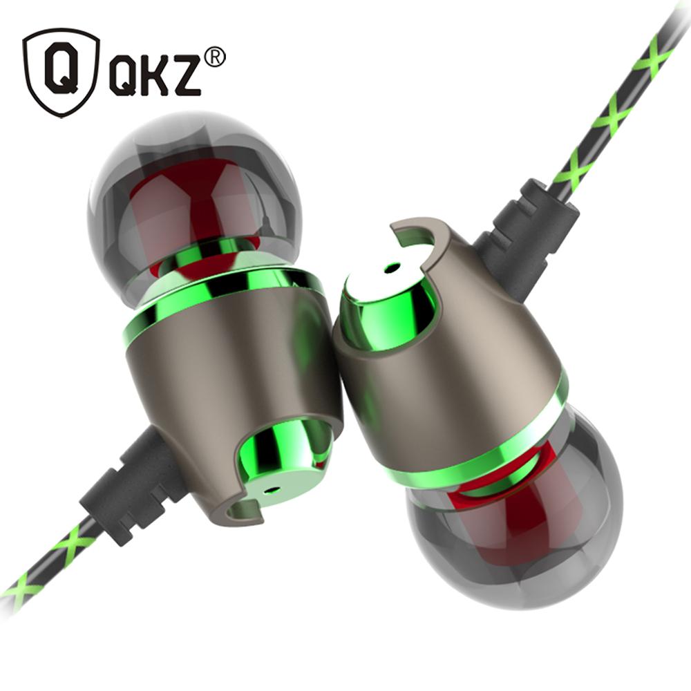 Earphone QKZ DM11 Magnetic Stereo BASS Metal in-Ear Earphone Noise Cancelling Headsets DJ In Ear Earphones HiFi Ear Phone(China (Mainland))