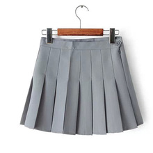 Buy High Women Lady Cute High Waist Plain Skater Flared Pleated Short Mini Skirt Shorts High Comfortable for $5.89 in AliExpress store