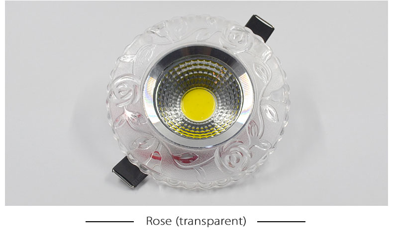 LED Colorful downlight cob AC100-230V 3W led ceiling downlight rainbow RGB lamp ceiling spot light Magic color free shipping