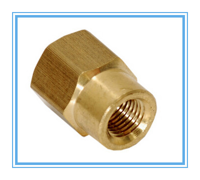 HEX SHAPE brass hex nut for precision gas testing equipment parts,(China (Mainland))