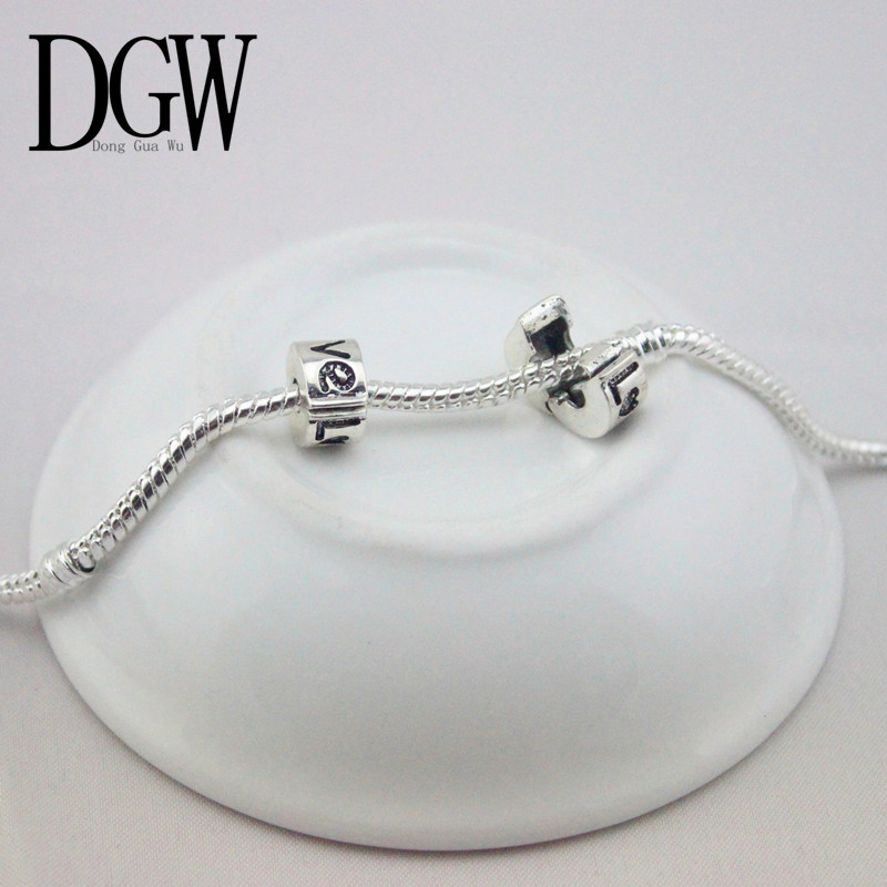 DGW 1pc free shipping Fits Pandora Charms bracelets safety Bead Clip Stopper Star Pattern European Charm DIY Jewelry(China (Mainland))