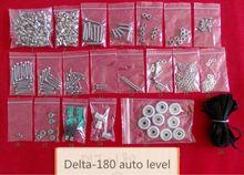 High precision auto leveling KOSSEL ROSTOCK reprap delta diy 3d printer kit DLT 180 open source