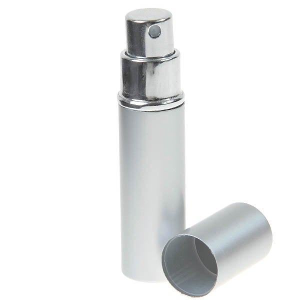 Fashion Portable Cylindrical Perfume Bottle Atomizer - Silver Perfume Bottles China Parfum Bottle HB02517(China (Mainland))