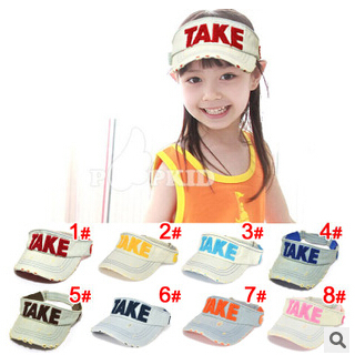children summer baseball cap Toddler Infant baseball caps Baby Girlsand Boy's Hat Casquette Peaked Beret Cap YF-304(China (Mainland))