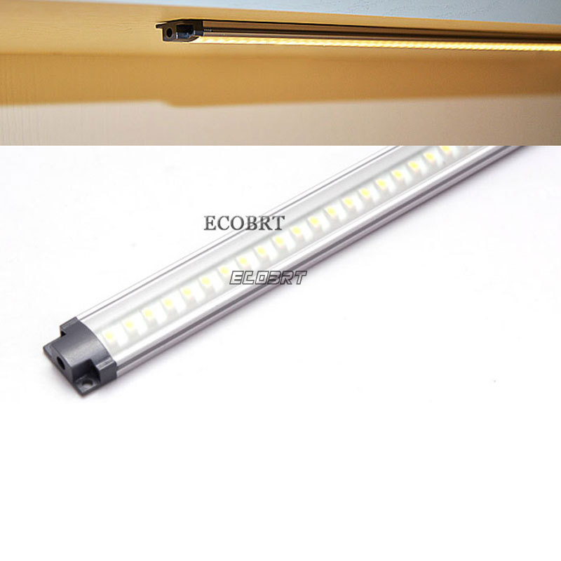 12v 800mm LED Lamp Led Linear Lighting Strip Tubes For Display Showcase Under Furniture Lamps 2pcs/lot(China (Mainland))