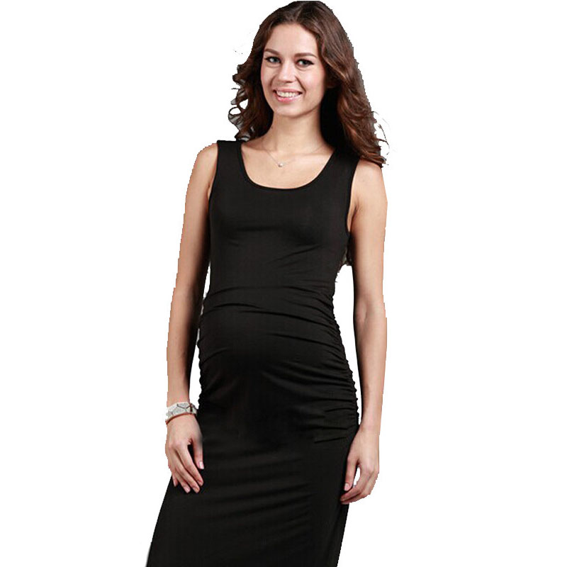 New 2016 Fashion Maternity Dresses Casual Cotton Maternity Clothes Summer Dress Clothes For Pregnant Women(China (Mainland))