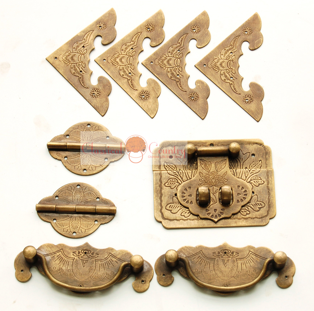 Aliexpress.com : Buy Antique Chinese Furniture Brass ...