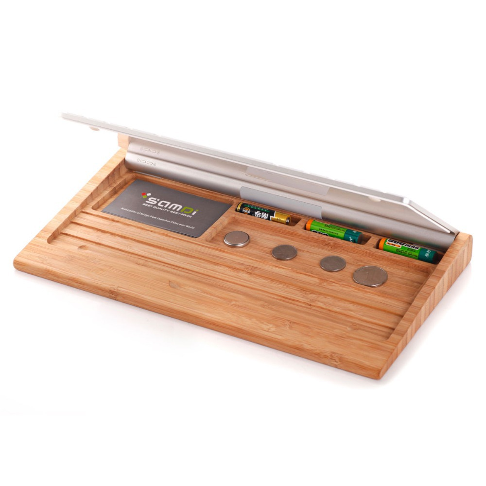 2015 Luxury Birch Wooden Stand Wood Keyboard Holder Set For Apple iPhone iPad Macbook Laptop Bluetooth Keyboard(China (Mainland))