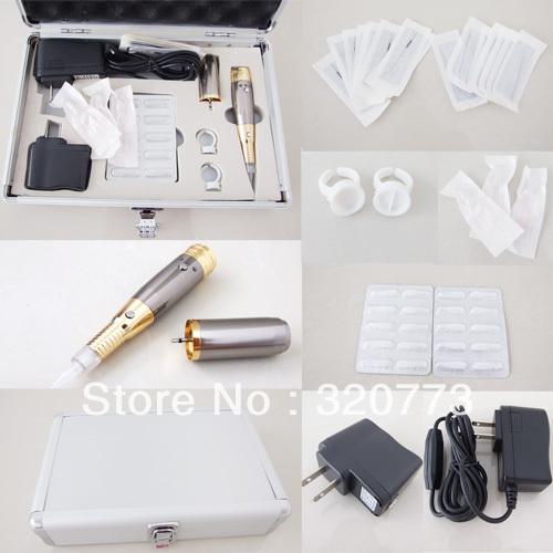 Super Permanent Makeup Kits Eyebrow Rechargeable Pen Machine Tip - SUE WANG Tattoo supplies store