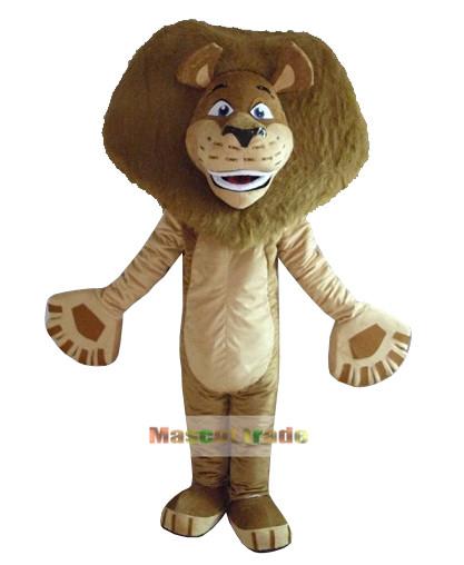 Madagascar Lion Alex Mascot Costume cartoon costumes advertising mascot animal costume school mascot fancy dress costumes(China (Mainland))