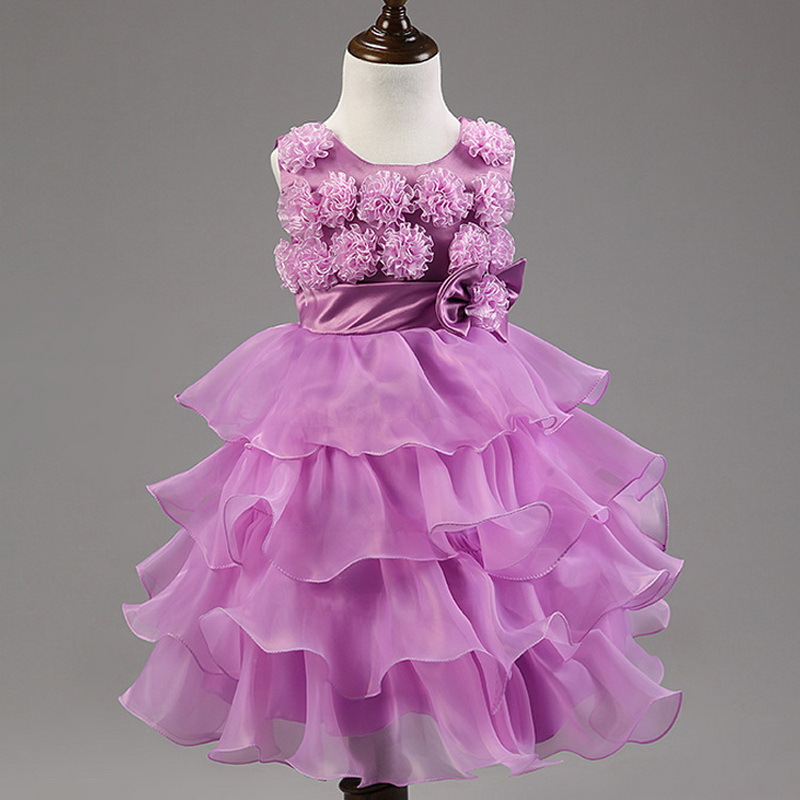 Beautiful summer dresses: Pink and purple summer dress