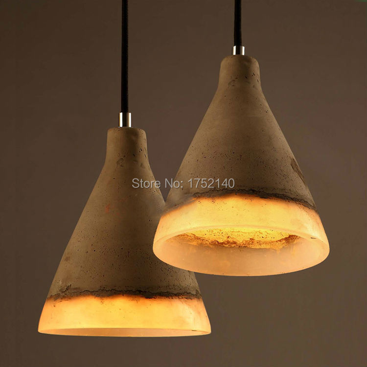 Popular Kitchen Hanging Lights Buy Cheap Kitchen Hanging  : Cement Chandeliers Resin Lampshade retro Concrete loft style font b Hanging b font font b Light from www.aliexpress.com size 750 x 750 jpeg 50kB